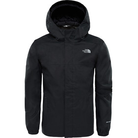 The North Face Resolve Reflective Jacket Boys TNF Black